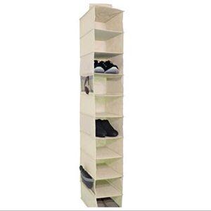 Signature Home 10 Shelf Shoe Organizer